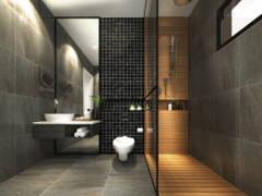 Modern Bathroom@The Hamilton
