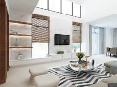 Modern Living Room@TERRAZA @ ECO SANTUARY