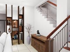 Classic Modern Foyer@BANDAR KINRARA 7, PUCHONG