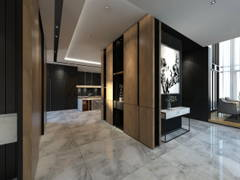 Contemporary Foyer@Setia-residence , Bungalow at Sitiawan, Perak