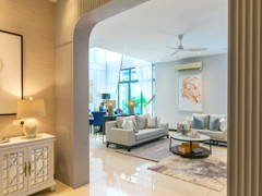 Living Room@Straits View Residences, The Hamptons Living