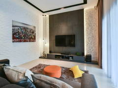 Contemporary Modern Living Room@Valencia, Sungai Buloh