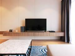 Minimalistic Modern Living Room@Dwiputra Residence