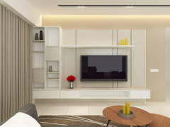 Contemporary Modern Living Room@Project R22_Type D