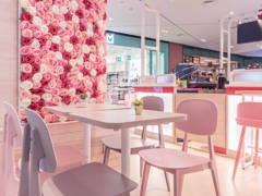 Minimalistic Scandinavian F&B Retail@Vanilla Mille Crepe @ Central I-City