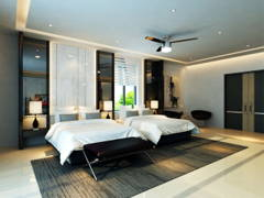 Classic Modern Bedroom@Taman Lake View House