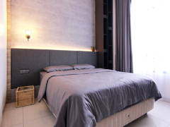 Contemporary Modern Bedroom@Eco Summer Upton