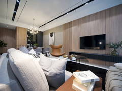 Contemporary Minimalistic Living Room@Fairfield 21