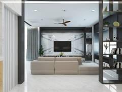 Modern Living Room@TAMAN MULIA, BANTING