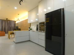 Contemporary Kitchen@Terrace
