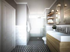 Classic Bathroom@Bayu Villa Bungalow