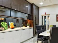 Dining Room@Condo Modern