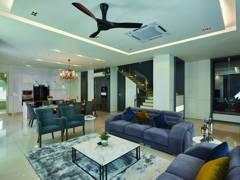 Contemporary Minimalistic Foyer Living Room@Palmiera @ Kinrara Residence