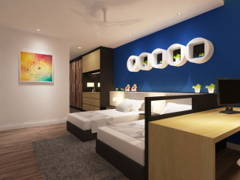 Contemporary Modern Bedroom Kids@Semi-D, Sibu