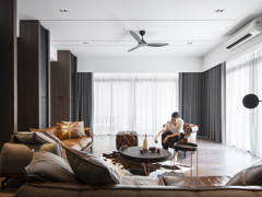 Classic Contemporary Living Room@DARK AESTHETIC - Semi D, Taman melawati
