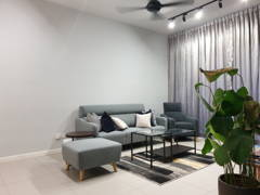 Contemporary Modern Living Room@Seventeen @Seksyen 17