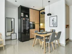 Contemporary Modern Dining Room Kitchen@Dwiputra, Putrajaya