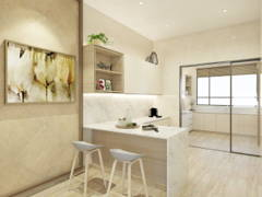 Contemporary Kitchen@SHNG VILLA G