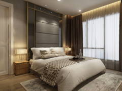 Contemporary Bedroom@Exclusive Condominium in KL