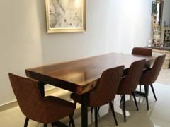Minimalistic Modern Dining Room@LAKE EDGE, PUCHONG