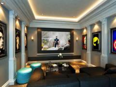 Classic Modern Family Room@Sunway Vivaldi Penthouse