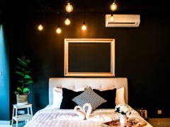 Contemporary Scandinavian Bedroom@Arte Plus @ Jalan Ampang