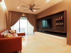 Contemporary Modern Living Room@De Pine 4