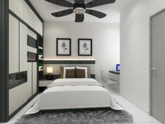 Modern Bedroom@Rini Home 1