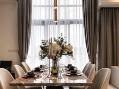 Minimalistic Modern Dining Room@The Enclave Premium Semi Dee, jadehills