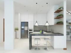 Modern Kitchen@TERRAZA @ ECO SANTUARY