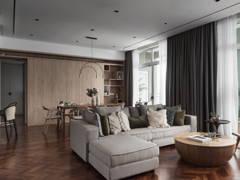 Minimalistic Dining Room Living Room@FUUUR