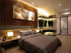 modern retro bedroom condominium design ideas photos malaysia