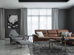 Minimalistic Living Room@Ong's villa
