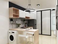 Minimalistic Modern Kitchen@CENTRUS SOHO, CYBERJAYA