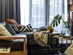 Industrial Scandinavian Living Room@Acacia 7