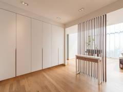 Minimalistic Scandinavian Foyer@Scandinavian Bungalow | When Simplicity Matters