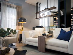 Asian Contemporary Living Room@Eco Park 15