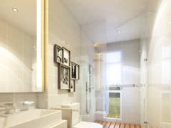 Contemporary Modern Bathroom@The Rafflesia