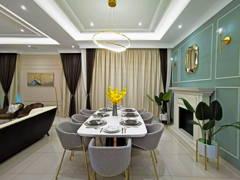 Country Modern Dining Room@Setia Alam Sari Type B