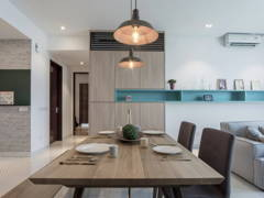 Contemporary Modern Dining Room@Amour