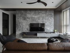 Contemporary Modern Living Room@The Consonance - The Rainz