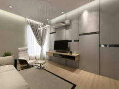Contemporary Bedroom@Contemporary Design @ Kayangan Height Bangalow