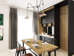 Contemporary Dining Room@The Knighton, EcoSummer
