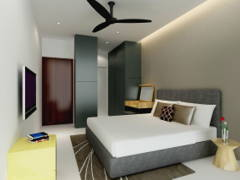Contemporary Modern Bedroom@Project C