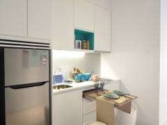 Scandinavian Dining Room Kitchen@HighPark Suites