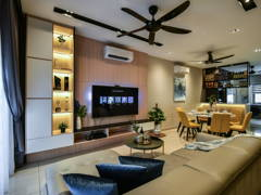 Scandinavian Living Room@Bayu Heights 2