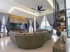 Contemporary Living Room@Laman Villa @ Klang