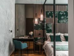 Asian Modern Bedroom@Opulent 30
