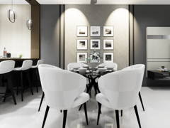 Minimalistic Modern Dining Room@TAMAN CONNAUGHT, CHERAS KUALA LUMPUR