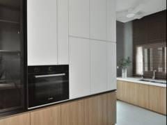 Contemporary Modern Kitchen@The perfect crush- Semi-D, Perak